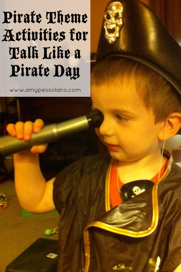 We had so much fun planning a week of Pirate activities!