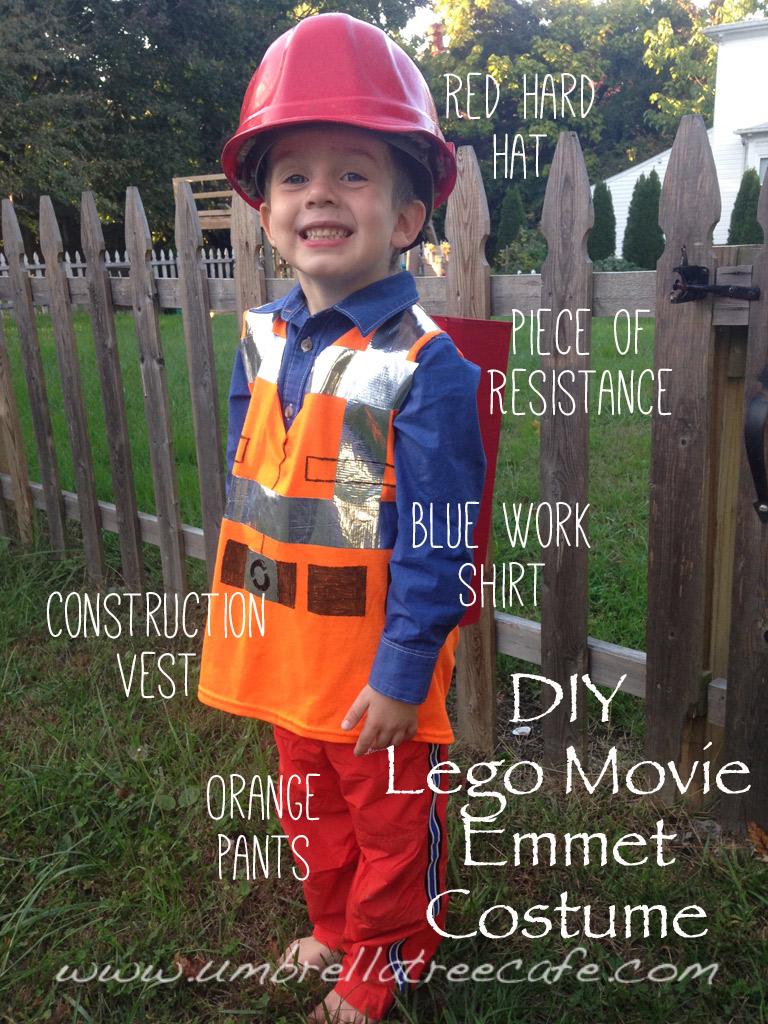 Diy lego movie emmet and batman costumes amy pessolano how to make a diy lego movie emmet costume solutioingenieria Gallery