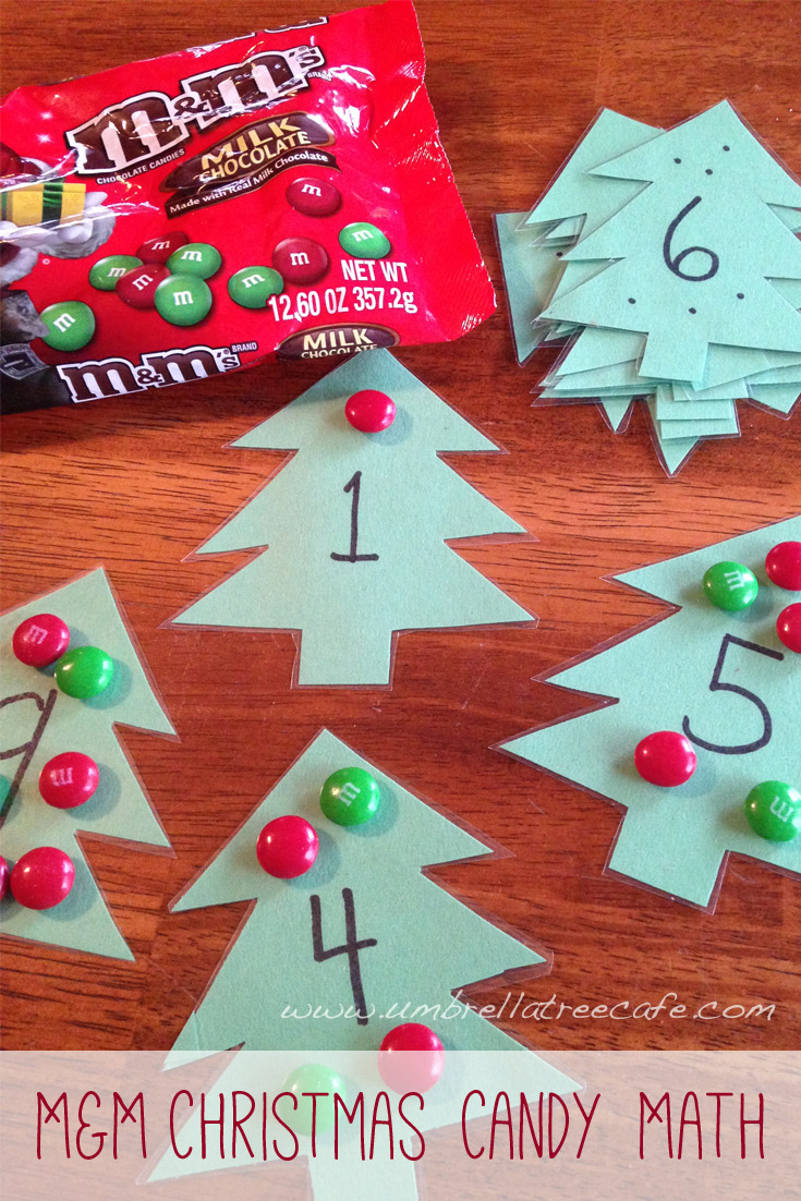 A fun and simple activity to practice math with candy.