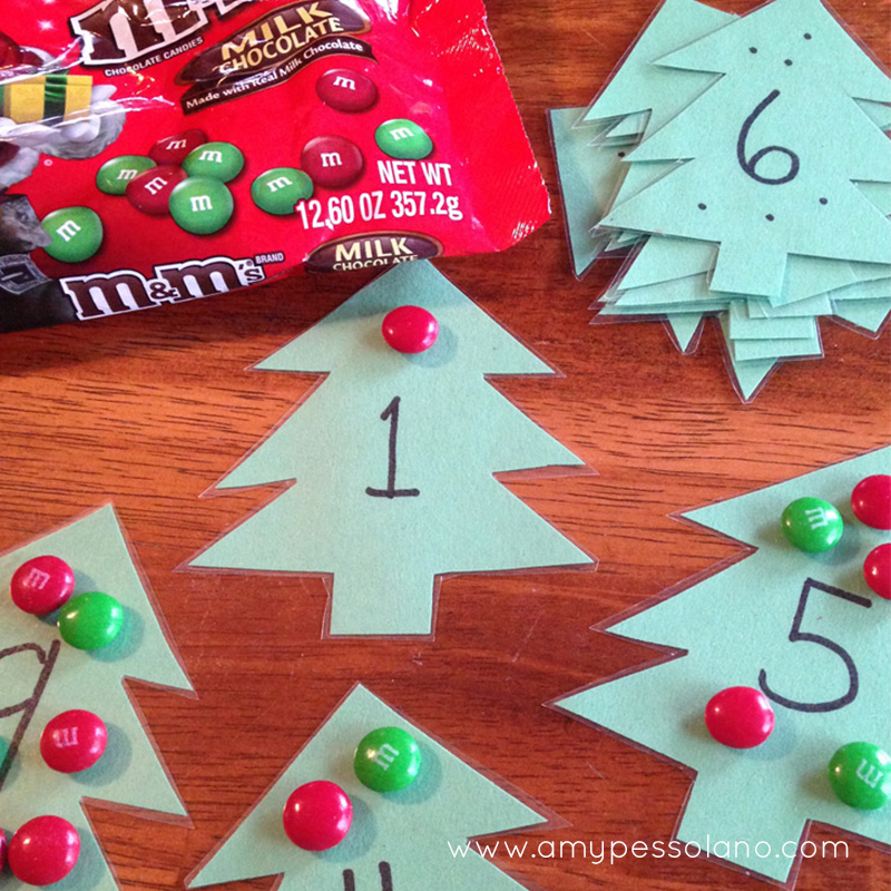 M M Christmas Tree Math Activity Amy Pessolano