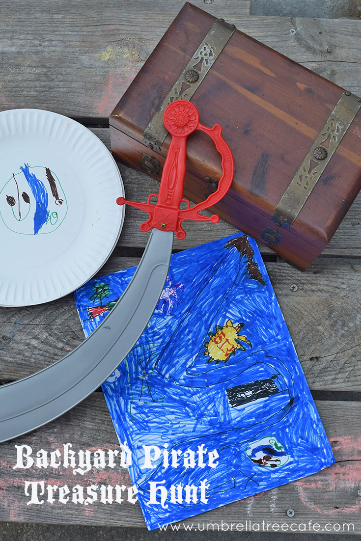 Plan your own backyard pirate treasure hunt for hours of fun