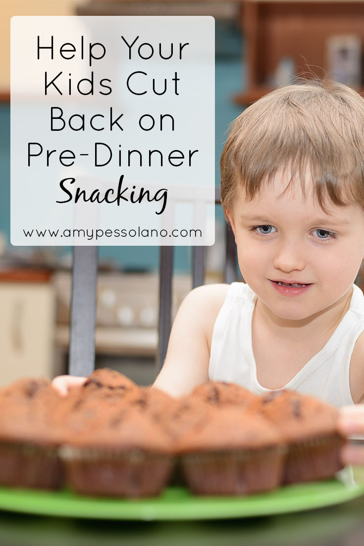 stop pre-dinner snacking