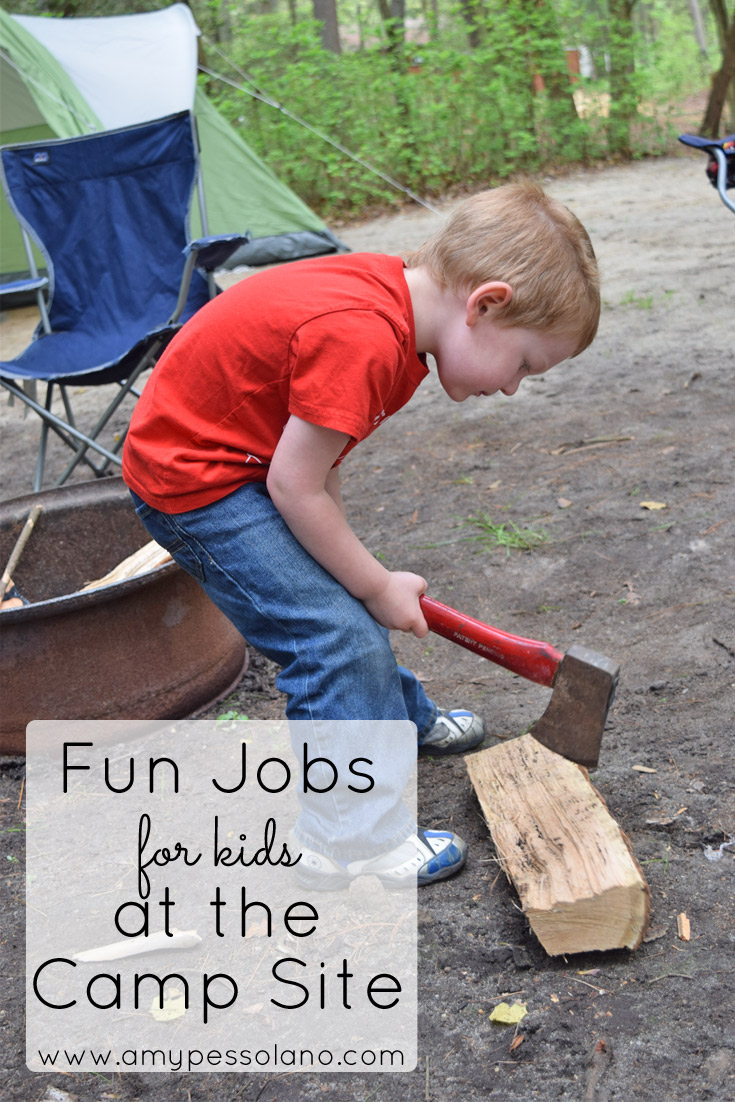 fun jobs for camping