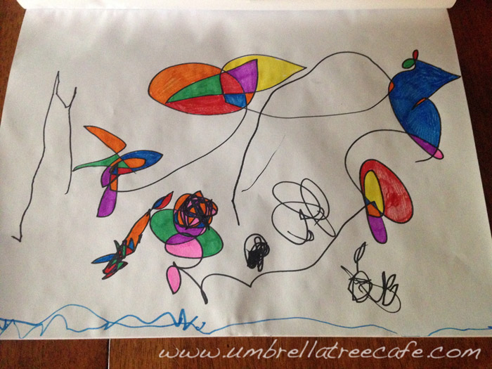Turn Toddler Scribbles Into Art Amy Pessolano