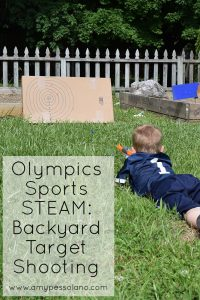 Olympic Sports STEAM: Backyard Target Shooting